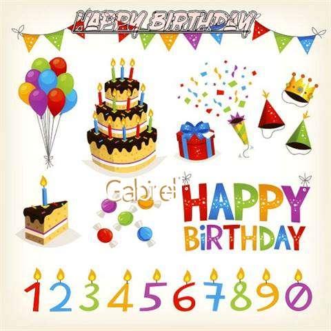 Birthday Images for Gabirel