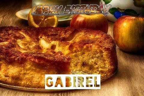 Happy Birthday Wishes for Gabirel