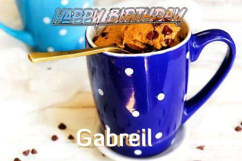 Happy Birthday Wishes for Gabreil