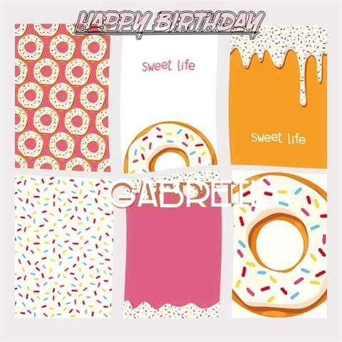 Happy Birthday Cake for Gabreil