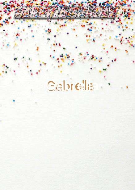 Happy Birthday Gabrella