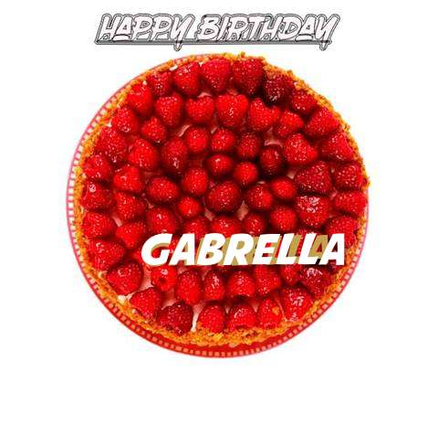 Happy Birthday to You Gabrella