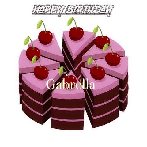 Happy Birthday Cake for Gabrella