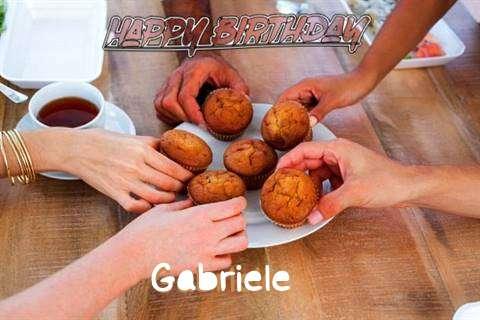 Happy Birthday Wishes for Gabriele
