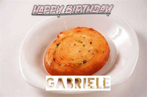 Happy Birthday Cake for Gabriele