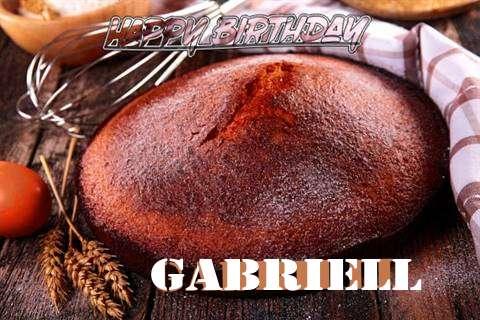 Happy Birthday Gabriell Cake Image