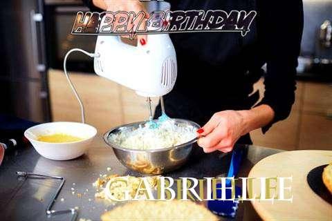 Happy Birthday Gabrielle