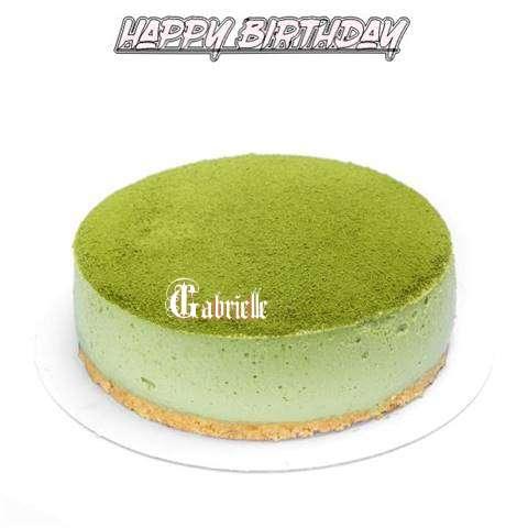 Happy Birthday Cake for Gabrielle