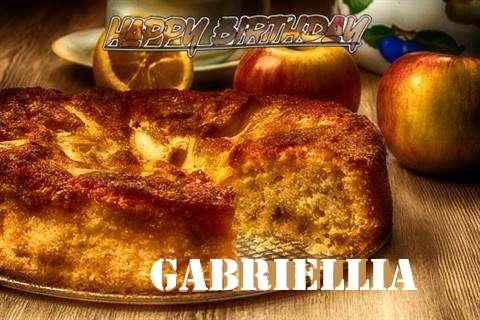 Happy Birthday Wishes for Gabriellia