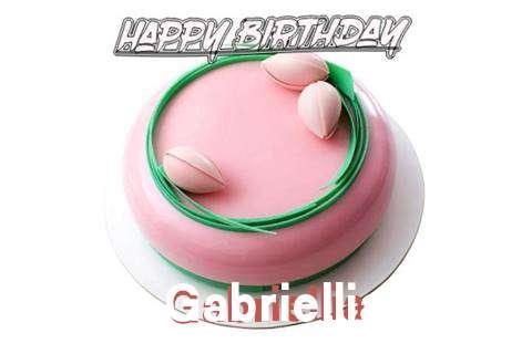 Happy Birthday Cake for Gabriellia