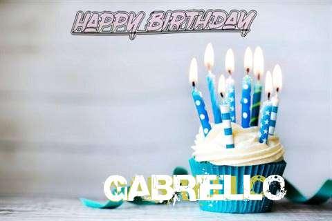 Happy Birthday Gabriello Cake Image