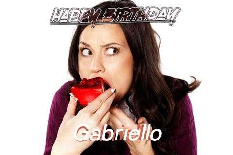 Happy Birthday Wishes for Gabriello