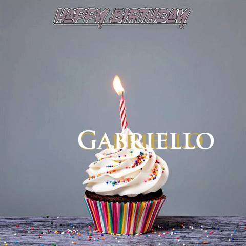 Happy Birthday to You Gabriello