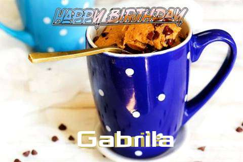 Happy Birthday Wishes for Gabrila
