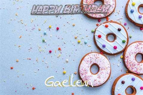 Happy Birthday Gaelen Cake Image