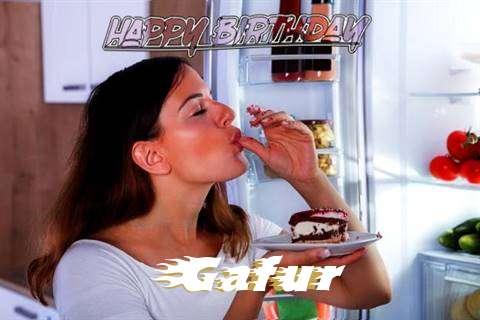 Happy Birthday to You Gafur