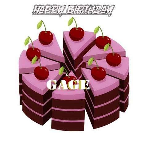 Happy Birthday Cake for Gage