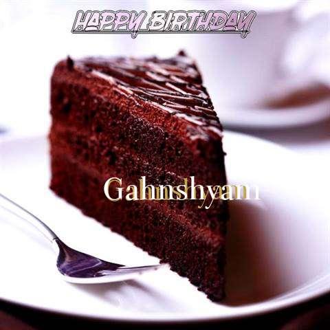Happy Birthday Gahnshyam