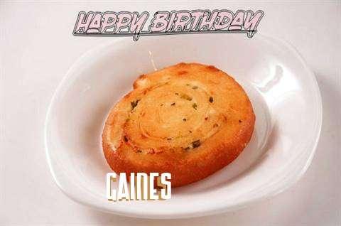 Happy Birthday Cake for Gaines