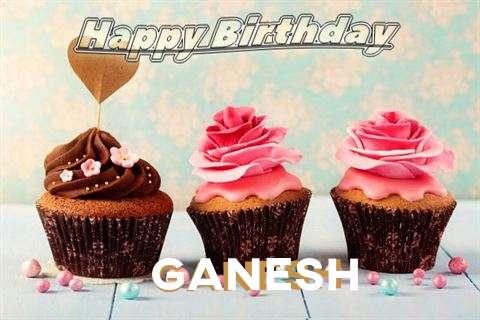 Happy Birthday Ganesh Cake Image