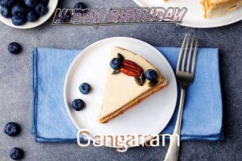 Happy Birthday Gangaram Cake Image