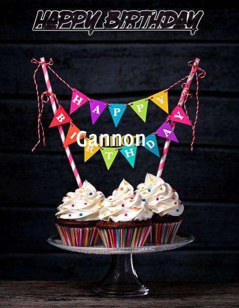 Happy Birthday Gannon