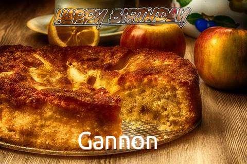 Happy Birthday Wishes for Gannon