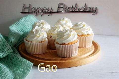 Happy Birthday Gao