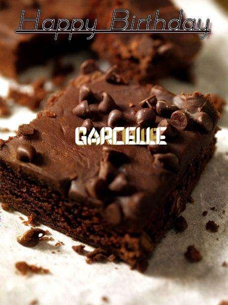 Happy Birthday Garcelle Cake Image