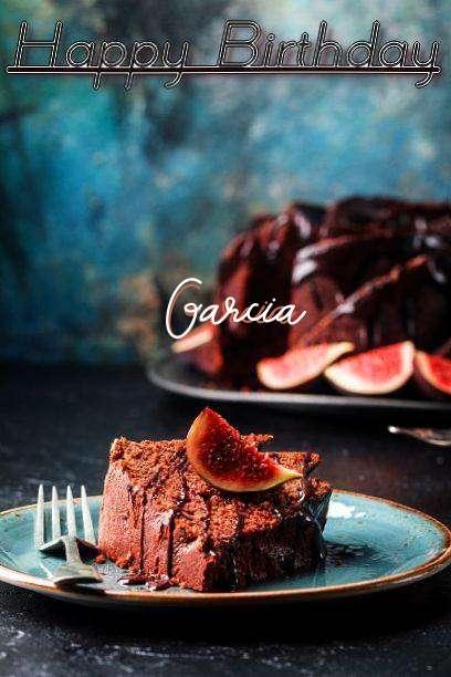 Happy Birthday Garcia Cake Image