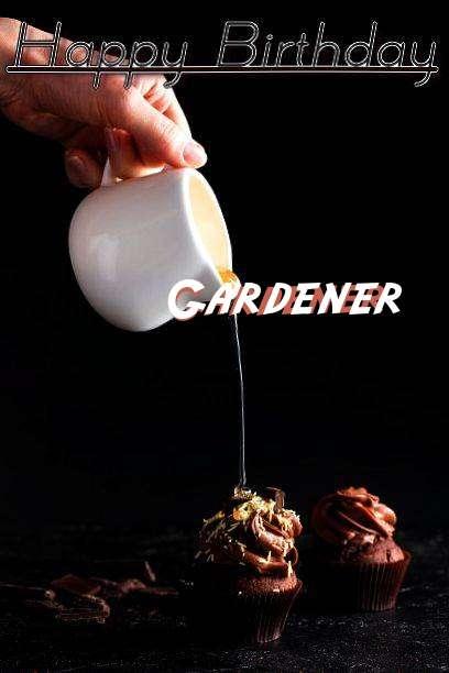Happy Birthday Gardener Cake Image