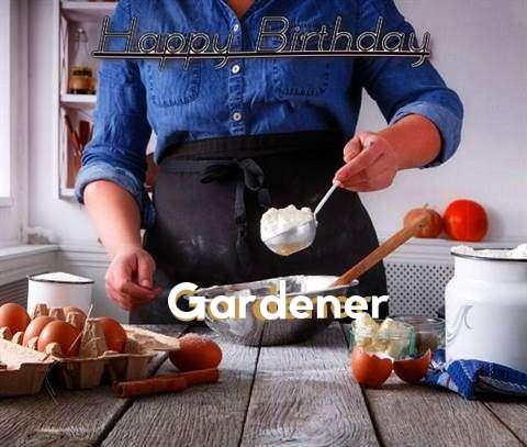 Happy Birthday to You Gardener