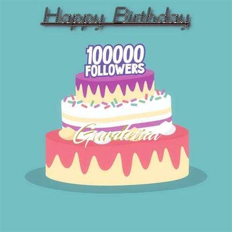 Birthday Images for Gardenia