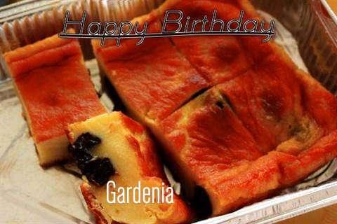 Happy Birthday Cake for Gardenia