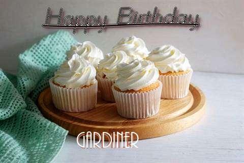 Happy Birthday Gardiner