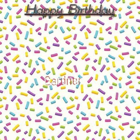 Happy Birthday Wishes for Gardner