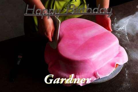 Happy Birthday Cake for Gardner