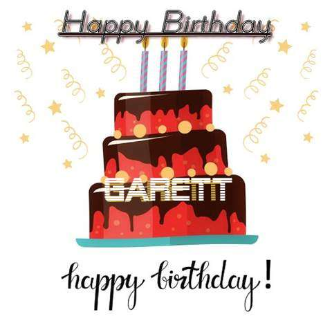 Happy Birthday Cake for Garett