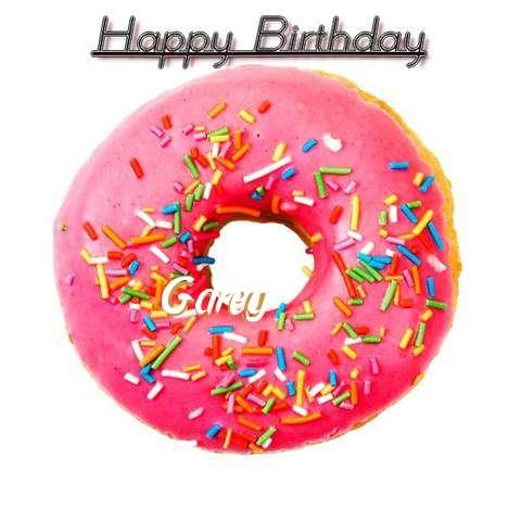 Happy Birthday Wishes for Garey