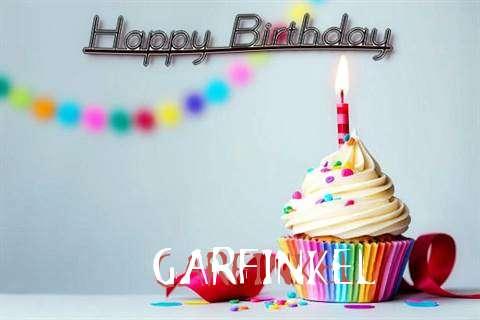 Happy Birthday Garfinkel Cake Image