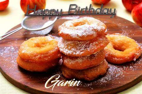 Happy Birthday Wishes for Garin