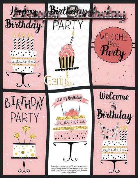 Happy Birthday to You Garin