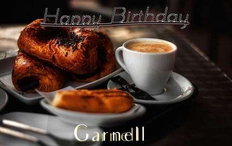 Happy Birthday Garnell Cake Image