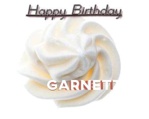 Happy Birthday Cake for Garnett