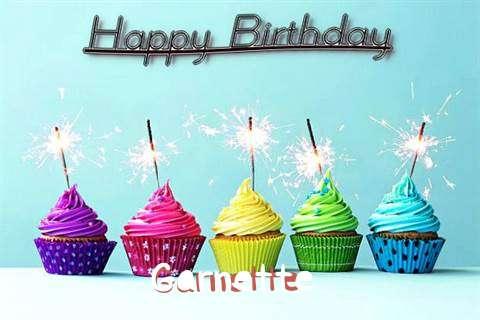 Happy Birthday Garnette