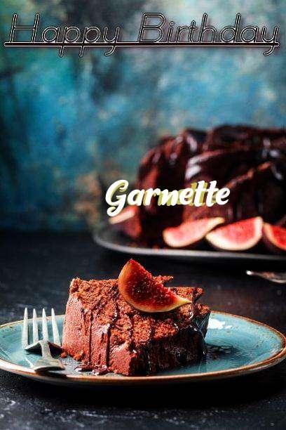 Happy Birthday Garnette Cake Image