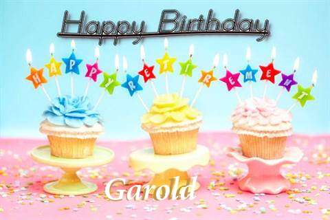 Happy Birthday Garold