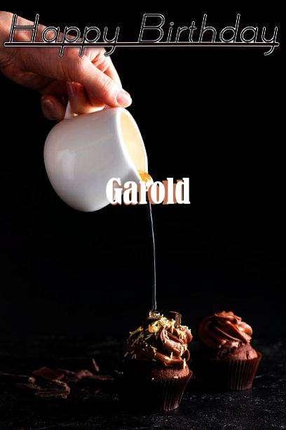 Happy Birthday Garold Cake Image