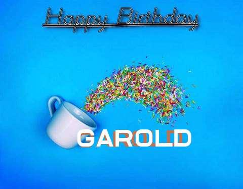 Birthday Images for Garold