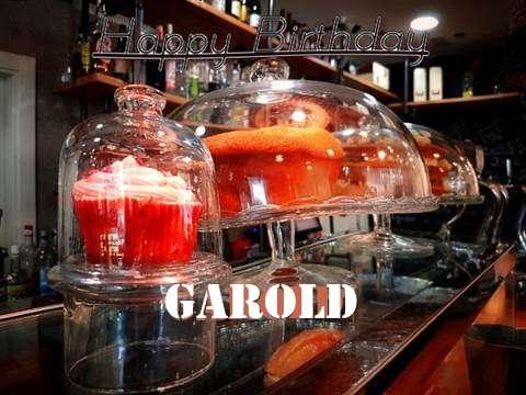 Happy Birthday Wishes for Garold